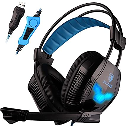 Sades A30S USB Gaming Headset