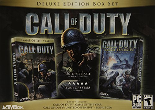 Call Of Duty Deluxe Edition - Pc front-267189