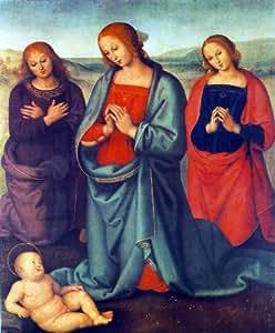 Amazon.com: Pietro Perugino Madonna with Saints Adoring the Child - 20
