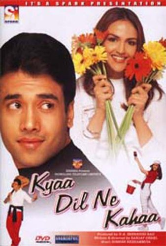 Kyaa dil ne kahaa(Bollywood Movie / Indian Cinema / Hindi Film / Tushar Kapoor / Esha Deol/ DVD