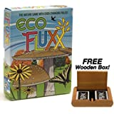 Eco Fluxx - The Nature Game of Ever Changing Rules. Plus FREE Wooden Box!