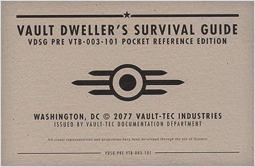 Vault Dweller's Survival Guide   Fallout Wiki   FANDOM ...