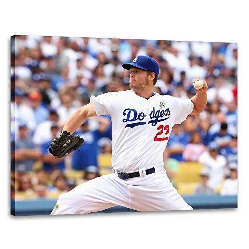 clayton-kershaw-poster-lost-angeles-dodgers-baseball-16x20-inches
