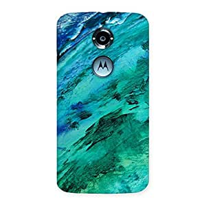 Paint Texture Back Case Cover for Moto X 2nd Gen