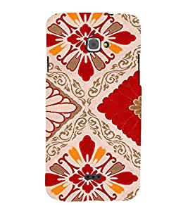 Fuson Premium Printed Hard Plastic Back Case Cover for Infocus M350