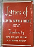 img - for Letters of Rainer Maria Rilke, Volume Two 1910 - 1926 book / textbook / text book