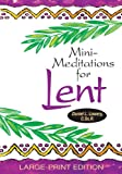 img - for Mini-Meditations for Lent book / textbook / text book