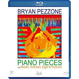 Piano Pieces from Mozart, Elgar and Pezzone (3D Blu Ray) [Blu-ray]