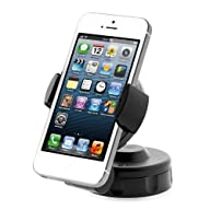 iOttie HLCRIO104 Easy Flex 2 Windshield Dashboard Car/Desk Mount Holder for iPhone 4S/5/5S/5C,…