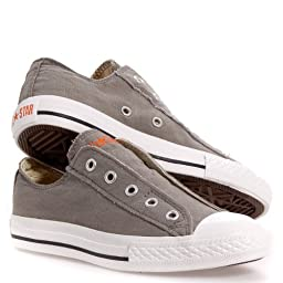 Converse CT AS Slip Ox Charcoal Kids Trainers 11 US