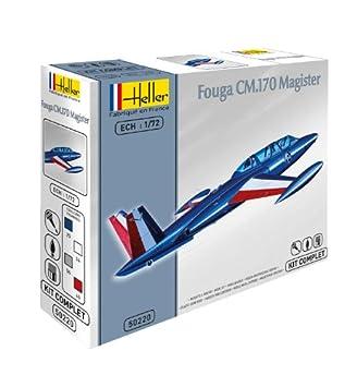 Heller - 50220 - Maquette - Fouga Magister - 170 cm - Echelle 1:72