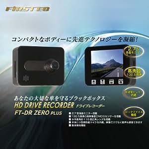 FIRSTEC(ファーステック) 130万画素 モニタ付ドライブレコーダー FT-DR ZERO PLUS