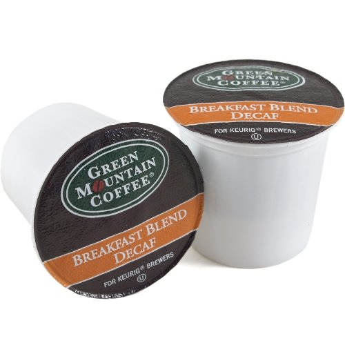 Green Mountain Breakfast Blend Decaf Coffee Keurig K-Cups,180 Count