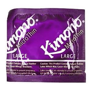 Kimono Microthin Large Condoms 12 Pack