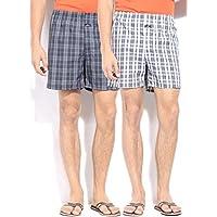 Jockey Men's Cotton Boxers (Pack of 2) (X-Large)