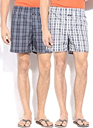 Jockey Mens Boxer Shorts (Jockeyboxer _Multi-Coloured _Large)