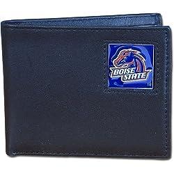 Boise St. Broncos Leather Bi-fold Wallet