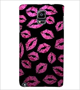 PrintDhaba Lips Pattern D-4395 Back Case Cover for SAMSUNG GALAXY NOTE 3 (Multi-Coloured)