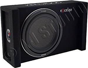 Kenwood eXcelon P-XW1000B 10in 1000W Subwoofer