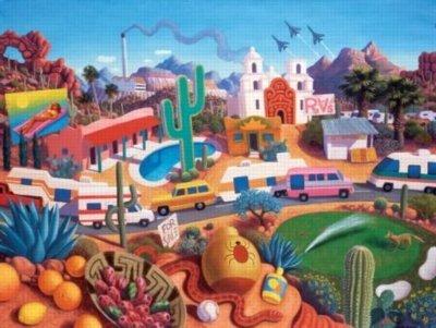 Cheap SunsOut Arizona The Land Of AZ 500 Piece Jigsaw Puzzle (B0036LK8PM)