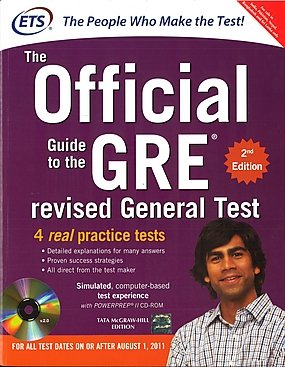 The Official Guide to the GRE Revised General Test with CD-ROM, 2nd Edition Image