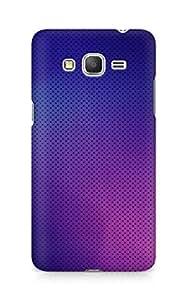 Amez designer printed 3d premium high quality back case cover for Samsung Galaxy Grand Prime (Pattern purple color)
