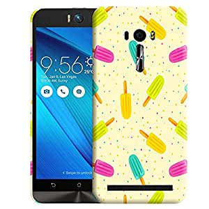 Theskinmantra Candy colours Back cover for Asus Zenfone Selfie