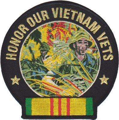 Honor Our Vietnam Vets Marine Patch