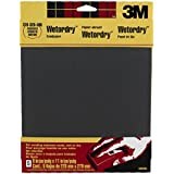 3M Wetordry Sandpaper, 9-Inch by 11-Inch, Assorted Grit, 5-Sheet, 2-pack
