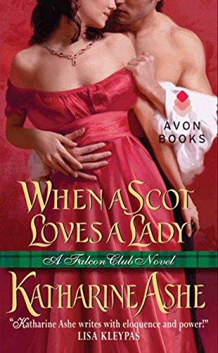 Image of When a Scot Loves a Lady: A Falcon Club Novel (The Falcon Club)