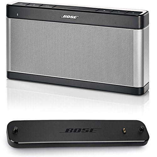 Bose SoundLink III Portable Bluetooth Speaker and Charging Cradle - Bundle