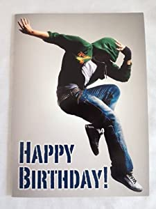 Happy Birthday Greetings Card - Street Dancer: Amazon.co.uk: Kitchen ...: www.amazon.co.uk/Happy-Birthday-Greetings-Card-Street/dp/B0085V0ZTM