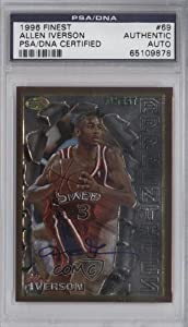 Allen Iverson PSA DNA Certified Auto AUTHENTICATED AUTHENTIC Philadelphia 76ers... by Topps