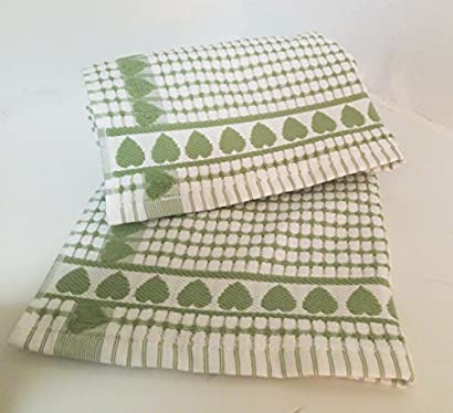 Kitchen Towels , Love Gift, Highly Absorbent, Low Lint, 100 ...