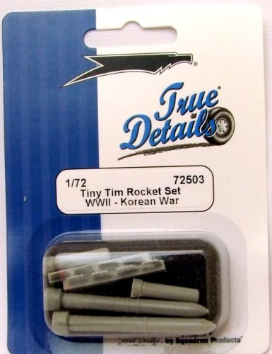 "True Details US Tiny Tim 11.7"" Rocket Set"