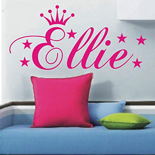 custom-made-personalized-princess-crown-stars-vinyls-wall-art-sticker-adhesive-wall-mural-vinyl-stic