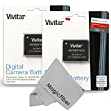 (2 Pack) Vivitar NB-11L / NB-11LH Ultra High Capacity 1200 mAh Li-ion Battery for CANON PowerShot SX400 IS, ELPH... by Vivitar