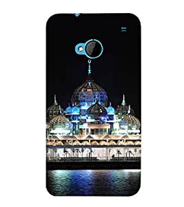 printtech Building Dome Lights Back Case Cover for HTC One M7::HTC M7
