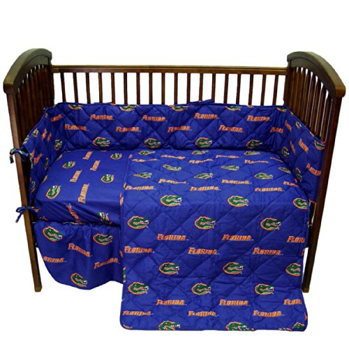 College Covers Florida Gators 5 Piece Baby Crib Set - 1
