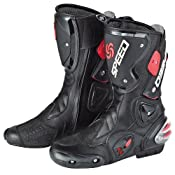 Amazon.com: NEW Men's Motorcycle Racing Boots US 9 EU 42 UK 8: Automotive