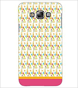 PrintDhaba Tower Pattern D-1806 Back Case Cover for SAMSUNG GALAXY A8 (Multi-Coloured)