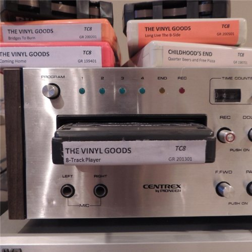 Vinyl Goods - 8 Track Player