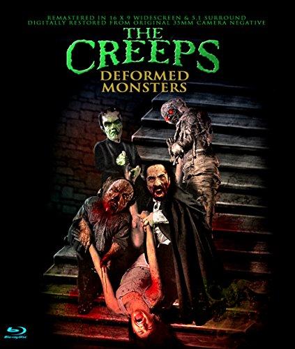 Blu-ray : The Creeps (aka Deformed Monsters) (Blu-ray)