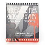 Great Movie Lines Trivia Cards - Volume Two||RF10F
