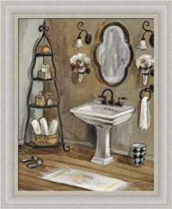 French bath i by silvia vassileva bathroom spa for Bathroom paintings amazon