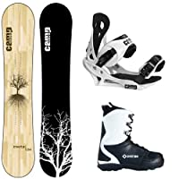 2015 Camp Seven Roots RCR Men's Snowboard + APX Boots + Bindings Snowboard Package from Camp Seven