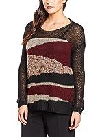 Fiorella Rubino Jersey (Negro / Multicolor)
