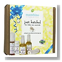 Mambino Organics Just Hatched Baby Arrival Kit 5 piece gift set ($55 value) *made with certified organic ingredients