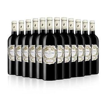 Pillastro Red Wine Italian Primitivo 2013 75cl (Case of 12)
