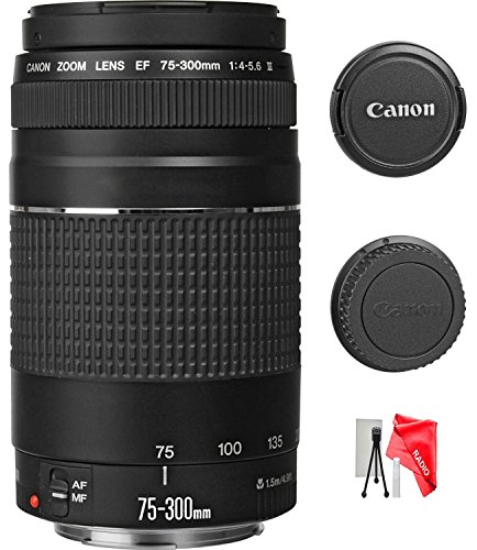Canon-EF-75-300mm-f4-56-III-Zoom-Lens-with-UV-FIlter-for-Canon-EOS-7D-60D-EOS-Rebel-SL1-T1i-T2i-T3-T3i-T4i-T5i-XS-XSi-XT-XTi